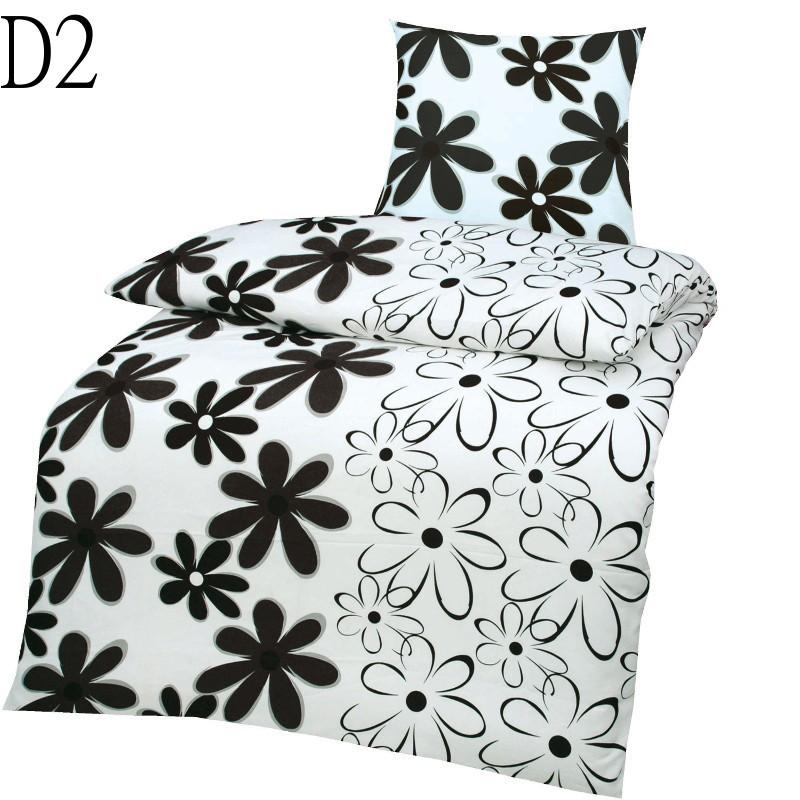 2 teilige microfaser bettw sche 155x220 135x200 80x80. Black Bedroom Furniture Sets. Home Design Ideas