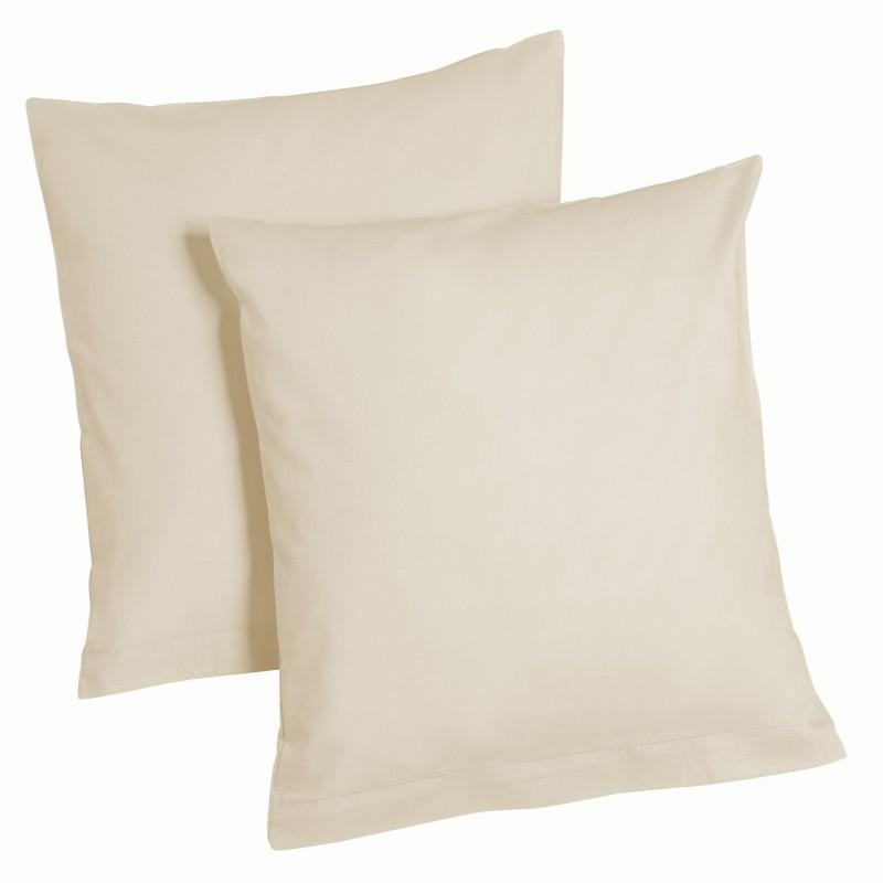 Decorative Pillow Packs : 2er Pack Microfibre Pillow Cushion Cover Case Decorative 80x80 40x80 40x40