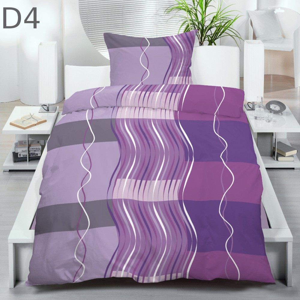 microfaser thermo kuschel flausch fleece winter bettw sche 135x200 ebay. Black Bedroom Furniture Sets. Home Design Ideas